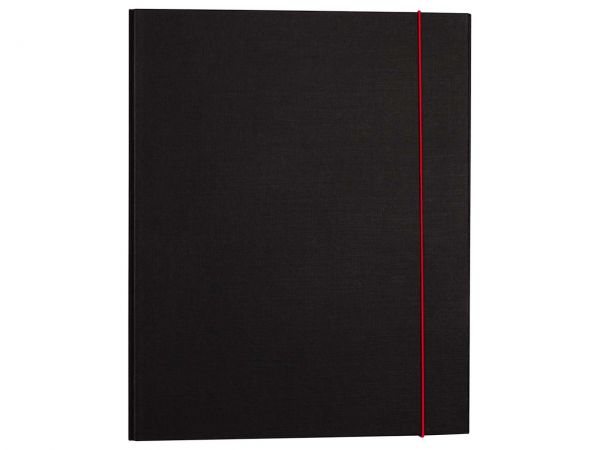 "Ringbuch ""Elegance Duo"" schwarz/rot"
