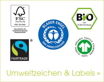 Umweltzeichen & Labels